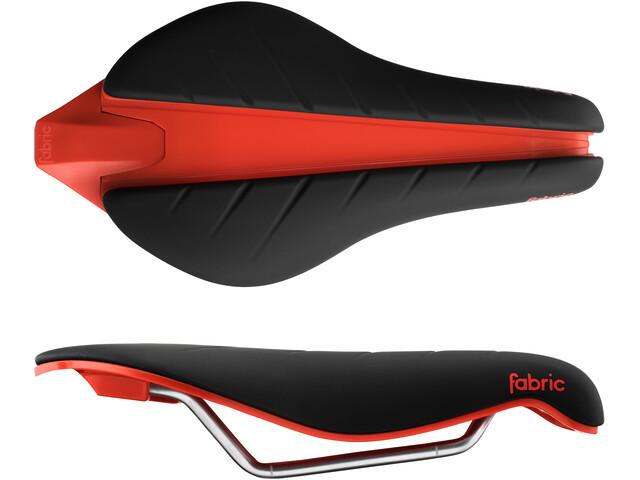 Fabric Tri Elite Flat Saddle black/red